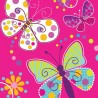 Piattini Butterfly Sparkle