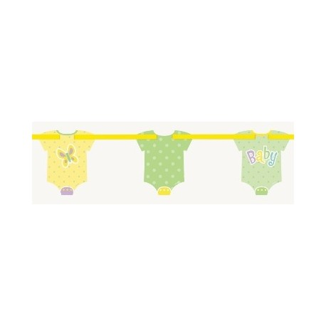 Ghirlanda vestitini Baby Shower Polka Dots