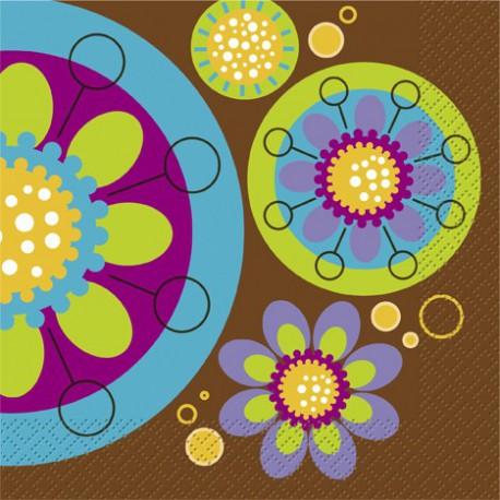 Tovaglioli Swanky Colors 33x33cm 16pz