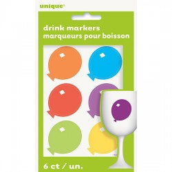 Balloons beverage markers