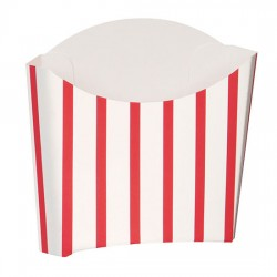 Red striped Containers
