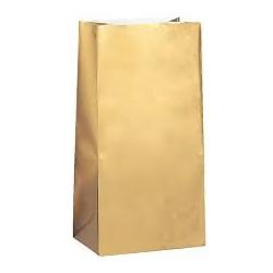 Sacchetti in carta dorata