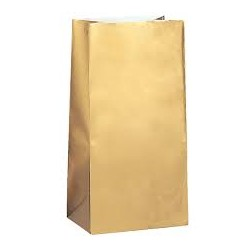 Gold Favor Bag