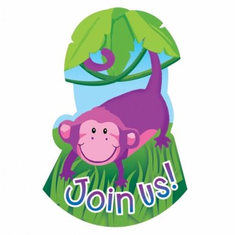 Jungle Party Invitations