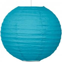 Turquoise Paper Lantern