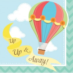 Up Up & Away Beverage Napkins