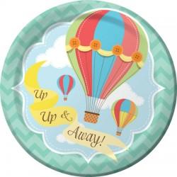 Up Up & Away Dessert Plates