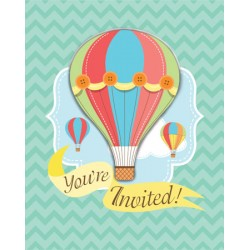 Up Up & Away Invitations