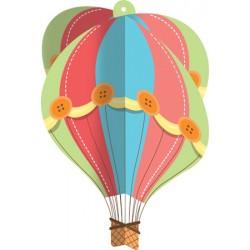 Up Up & Away Hanging Hot Air Balloon