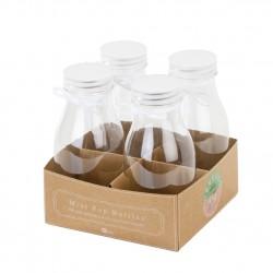 Bottigliette in plastica 4pz