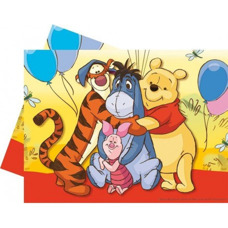 Kids Birthday Party Supplies Winnie The Pooh Tablecover
