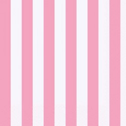 Pink Striped Lunch Napkins