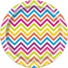 Piattini Rainbow Chevron