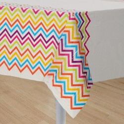 Rainbow Chevron Tablecover