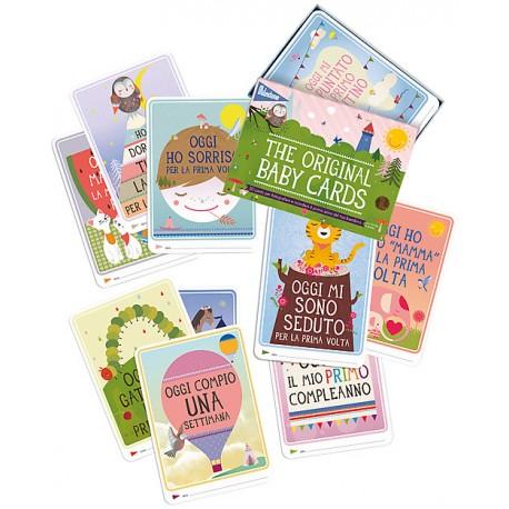 Milestone Baby Cards - Cartoline Prime Tappe in Italiano