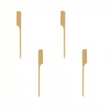 Stecchini di legno bambù per aperitivi 250 pezzi