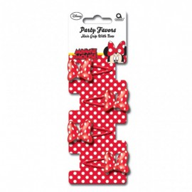 Minnie Polka Dots Bow Hair Grips