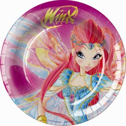 Winx Dessert Plates