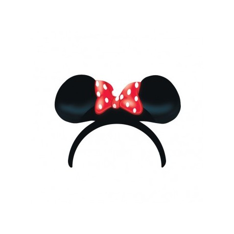Cerchietti Minnie 4pz