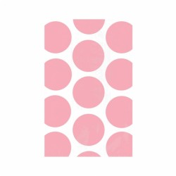 Pink Polka Dots Treat Bags