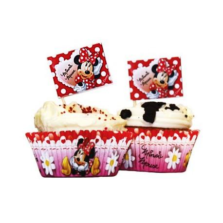 Kit Decorazione Cupcake Minnie 24pz