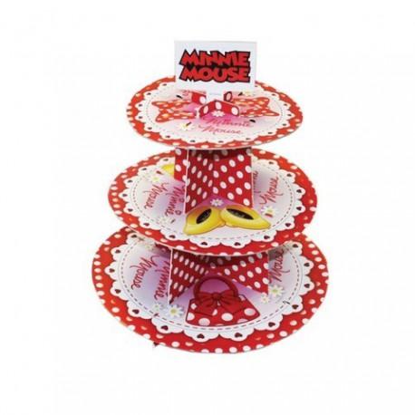 Alzata Cupcake Minnie 3 livelli
