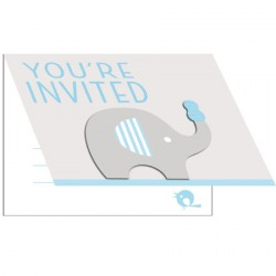 Little Peanut Boy Invitation