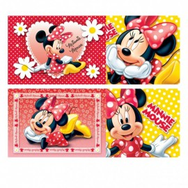 Minnie Mouse Polka Dots Assorted Jigsaws