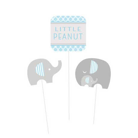 Set decorazione baby shower Little Peanut Boy