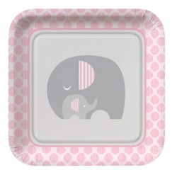 Little Peanut Girl Dinner Plates