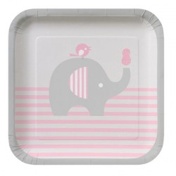 Little Peanut Girl Dessert Plates
