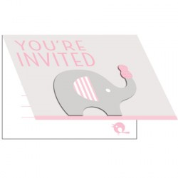 Little Peanut Girl Invitation