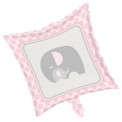 Palloncino foil Baby Shower Little Peanut Girl
