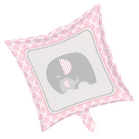 Palloncino foil Baby Shower Little Peanut Girl