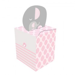 Little Peanut Girl Favor Boxes