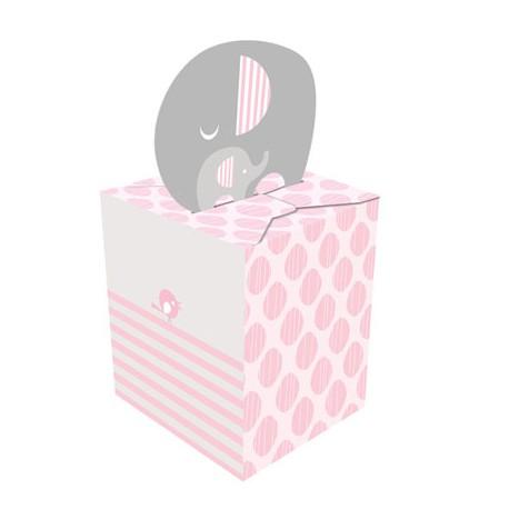 Little Peanut Girl Favor Boxes