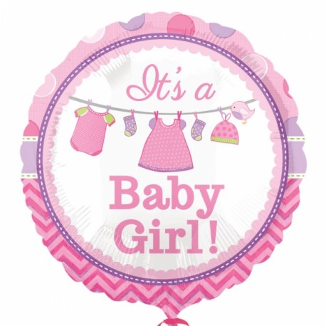 It's a Baby Girl Foil Balloon