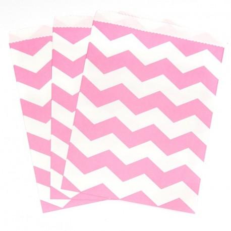 Pink Polka Dots Treat Bags
