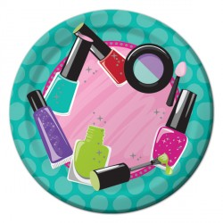 Spa Party Dessert Plates