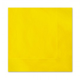 Yellow Lunch Napkins