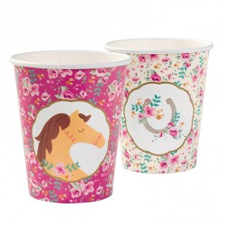 Pony Party Cups 2 designs