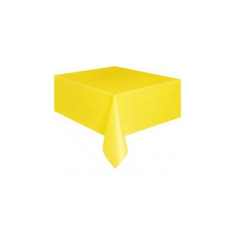 Tovaglia Plastica colore Giallo 137x274cm