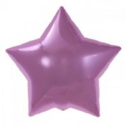 Palloncino foil Pastel Pink Star - Stella Rosa