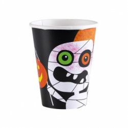 Friendly Mummy Halloween Cups