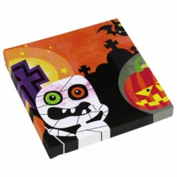 Friendly Mummy Halloween Napkins