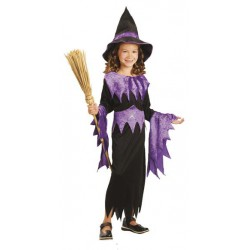 Purple Witch Costume 4-6 years