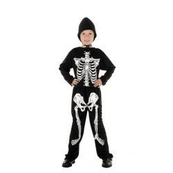 Skeleton Costume 4-6 years