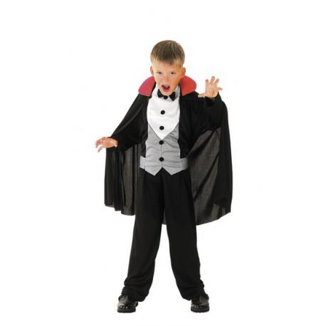 Costume Vampiro per Halloween Bambini 4-6 anni