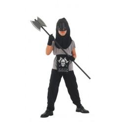 Costume Ninja per Halloween Bambini 7-9 anni