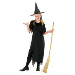 Black Witch Costume 7-9 years